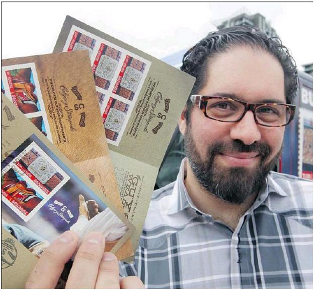 2012 05 18 Stampede Stamp Artist