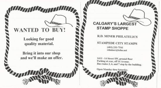 Calgary Philatelic Society – The Calgary Philatelic Society