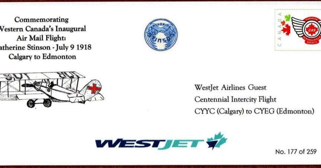 WestJet guest envelope